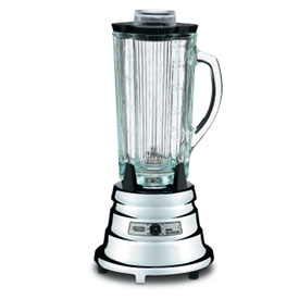 Waring BB900G Heavy Duty Chrome Bar Blender 2 Speed, 40 Oz. by