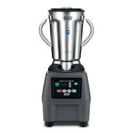 Waring CB15T One-Gallon 3-Speed Blender With Timer, Stainless Steel by