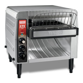 Waring CTS1000B Commercial Conveyor Toaster, 1000 Slices Per Hour, 208V by