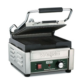 Waring WPG150 Panini Grill, Compact, 120V by