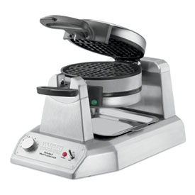 Waring WWD200 Double Waffle Maker, Commercial, 120V by
