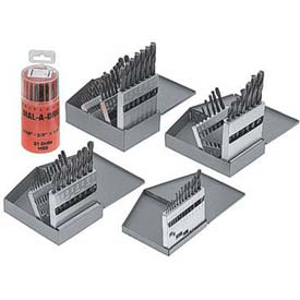8 Pc. Import HSS Silver & Deming Drill Set