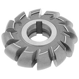 "HSS Import Convex Milling Cutter, 1/2"" Circle DIA x 3"" Cutter DIA x 1"" Hole by"