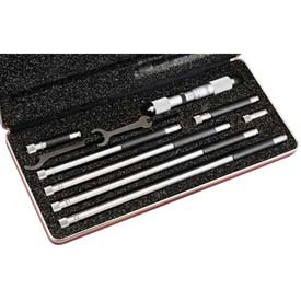 "Starrett 53054 823CZ Tubular Inside Micrometer, 4 to 24"" Range by"