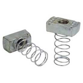 """Superstrut 1/4"""" Stainless Steel Channel Nut A100 1/4SS, Spring Nut"""