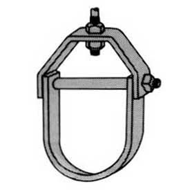 Superstrut Steel Adjustable Clevis Hanger C710 2 1/2EG, Silvergalv™ Finish