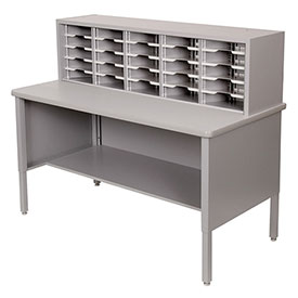 Marvel 25 Slot Literature Organizer Slate Gray by