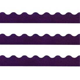 "Trend® Sparkle Terrific Trimmers, 2-1/4"" x 32-1/2', Purple, 1 Pack"