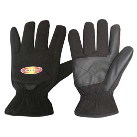ThermaFur™ Air Activated Heating Full Finger Gloves, Med, Black