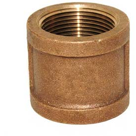 "Trenton Pipe LF74130X14 3"" x 1-1/2"" Reducing Coupling, Lead-Free Cast Bronze"