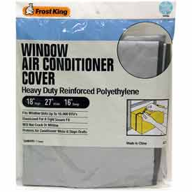 Frost King Small Outside Window Air Conditioner Cover - Pkg Qty 12