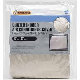 Frost King Small 2-Piece Quilted Indoor Air Conditioner Cover - Pkg Qty 6
