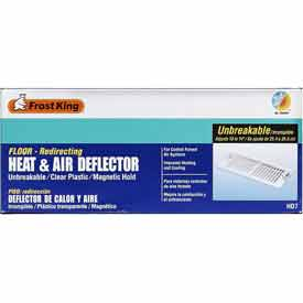 "Frost King Unbreakable Heat & Air Deflector, 10"" Extends To 14"" - Pkg Qty 12"