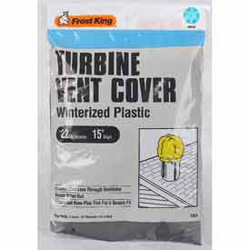 Frost King Plastic Turbine Vent Cover - Pkg Qty 12