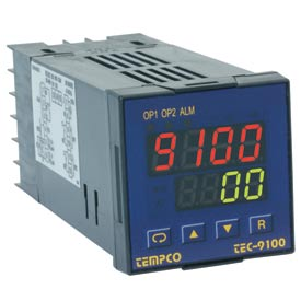 Temperature Control - Prog, 90-250V, Relay2A, TEC14044