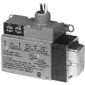 TPI Low Voltage Relay Single Switch Throw With Built-In Transformer 208V 24A05E1