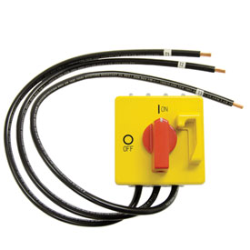 TPI Field Installed Disconnect Kit for Unit Heaters DCS403
