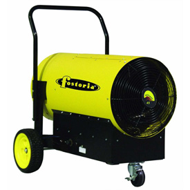 TPI Fostoria Salamander Heater Portable Electric FES-4560-3 45KW 600V 3 Phase Yellow by