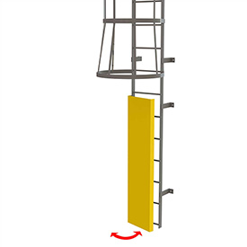 Ladders Fixed Access Ladders Fixed Steel Ladder Guard