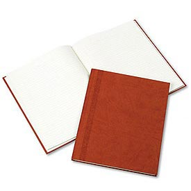 Hardbound Da Vinci Notebook, College Rule, 9-1/4x7-1/4, 75 Sheets, Saddle-Color