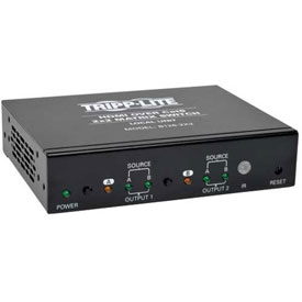 Tripp Lite HDMI over Cat5 Cat6 2x2 Matrix Extender Switch HDMI RJ45 F/F TAA