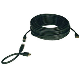Tripp Lite 100ft High Speed HDMI Easy Pull Cable Video w/ Audio M/M 100'