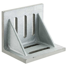 "Suburban Slotted Angle Plates - Webbed End - Ground Finish 6"" x 5"" x 4-1/2"""