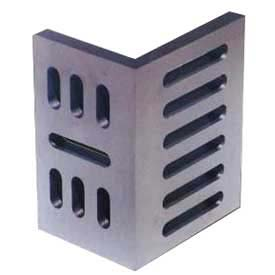 "Imported Slotted Angle Plates - Open End - Ground Finish 8"" x 6"" x 5"""