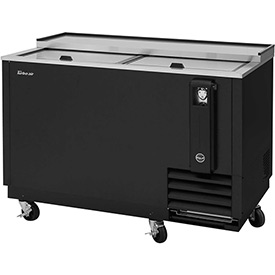 "Bottle Cooler 50""W Black by"