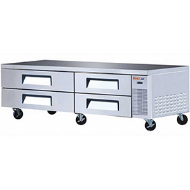 "Turbo Air TCBE-82SDR Super Deluxe Series Chef Base 82""W 4 Drawers by"