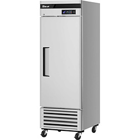 Turbo Air TSR-23SD Solid Door Refrigerator 23 Cu. Ft. Steel