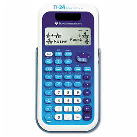 Buy Texas Instruments TI-34 MultiView Scientific Calculator, 16-Digit LCD