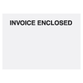 "Clear Face Invoice Enclosed - Panel Face 7"" x 5"" - 1000 Pack"