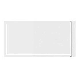 "Resealable Clear Face Document Envelopes 5"" x 106"" - 1000 Pack"