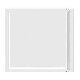 "Resealable Clear Face Document Envelopes 6"" x 6"" - 1000 Pack"
