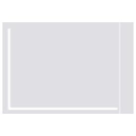 """Clear Face Document Envelopes 3-1/2"""" x 5"""" 1000 Pack by"""