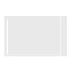 """Clear Face Document Envelopes 5-1/8"""" x 8"""" - 1000 Pack"""