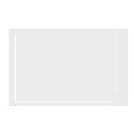 "Clear Face Document Envelopes 6-1/2"" x 10"" - 1000 Pack"