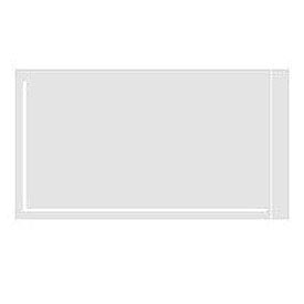 "Clear Face Document Envelopes 5-1/2"" x 10"" - 1000 Pack"
