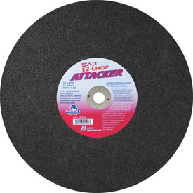 "Click here to buy United Abrasives Sait 24500 Chop Saw Wheel Type 1 Attacker 14""x 3/32"" x 1"" Aluminum Oxide Package Count...."
