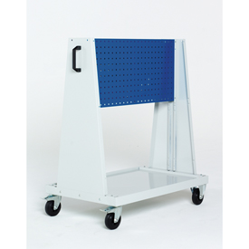 "39x18x47""Trolley 1 Perfo Panels Louvered Panel by"