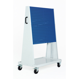 "39x18x63"" Trolley 2 Perfo Panels each side by"