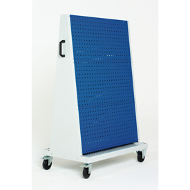 "39x18x63"" Trolley 3 Perfo Panels each side by"