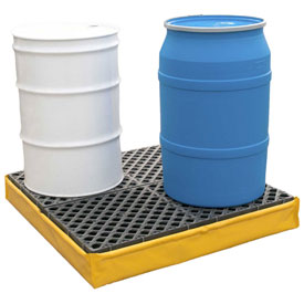 UltraTech Ultra-Spill Pallet® 1346 P4 Flexible Model with Drain