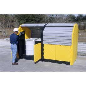 UltraTech Ultra-Hard Top Spill Pallet® Plus 9651 P8 with Drain