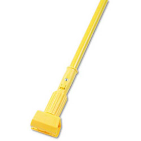 "60"" Aluminum Handle W/ 5"" Plastic Jaws Clamp, Yellow - UNS610 - Pkg Qty 12"