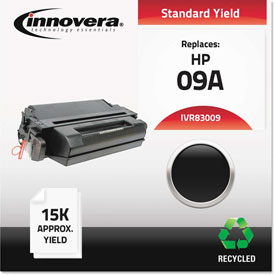 Buy Innovera Remanufactured C3909A (09A) Laser Toner, 15000 Yield, Black, 0.06