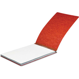 """ACCO Pressboard Report Cover, Spring Clip, Letter, 2"""" Capacity, Earth Red by"""