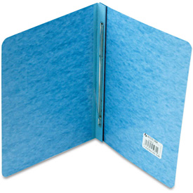 "ACCO Pressboard Report Cover, Prong Clip, Letter, 3"" Capacity, Light Blue by"