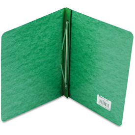 "ACCO Pressboard Report Cover, Prong Clip, Letter, 3"" Capacity, Dark Green by"